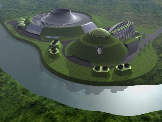 nuclear complex design concepts
